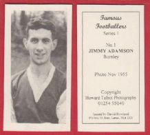Burnley Jimmy Adamson